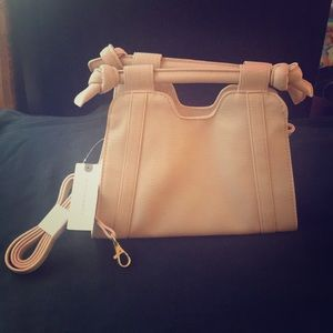 NWT Anthropologie Pale Pink Purse